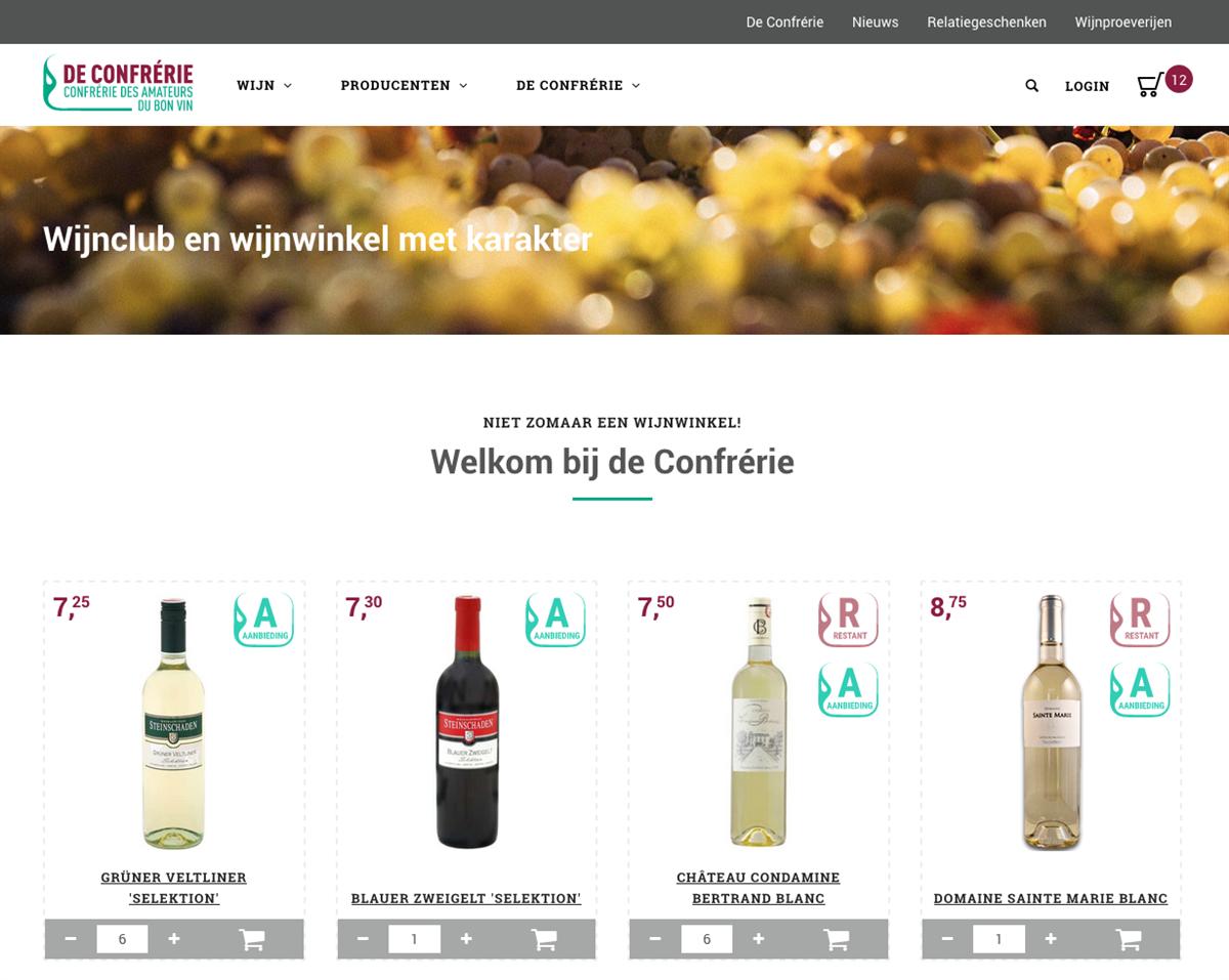 De Confrerie Wijnwinkel