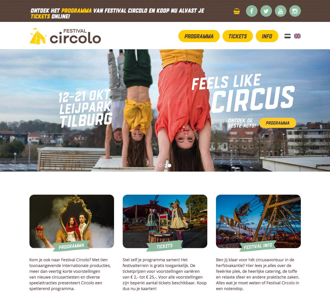 Festival Circolo. Website.